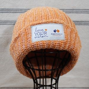 Love Your Melon Pinky Swear Double Patch Beanie Or